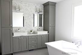 bathroom counter storage ideas vanity with storage tower woodpro gentry vanity