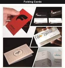 wholesale custom business paper name card black foil sting