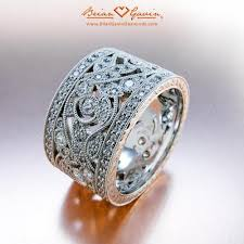 wide wedding bands thick wedding rings 25 stylish wide wedding bands ideas on