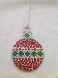 christmas mosaics statement christmas baubles approx 20com 9