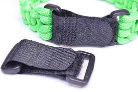 buckle paracord bracelet images Strapz adjustable velcro buckles for paracord bracelets jpg