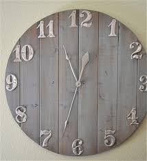 home decor wall clocks rustic wall clock diy home decor