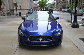 maserati ghibli blue 2014 maserati ghibli sq4 stock 11111 for sale near chicago il