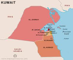 kuwait on a map free kuwait map map of kuwait free map of kuwait open source