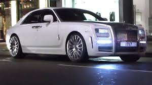 mansory rolls royce rare mansory rolls royce ghost cruising in london 1 of 3 in the
