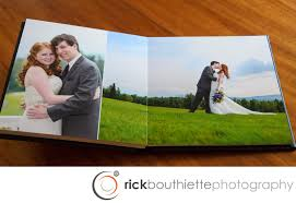 photo albums wedding our wedding albums rick bouthiette photography