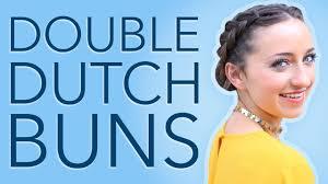 bailey u0027s double dutch buns hair tutorial hairstyles for short