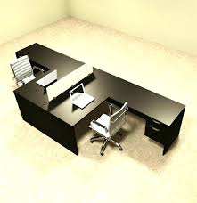 Two Person Reception Desk Desk Two Person Office Desk Two Person L Shaped Divider Office