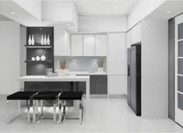 Minimalist Kitchen Design For Apartments Kitchen Minimalist Kitchen Apartment Design With Small Dining
