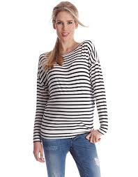 nursing top striped side popper maternity nursing top seraphine