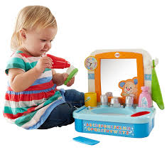 fisher price let s get ready sink amazon com fisher price laugh learn let s get ready sink toys