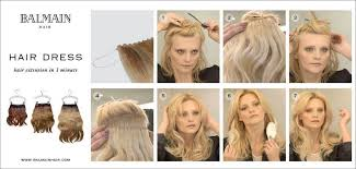 balmain hair balmain hairdress extension