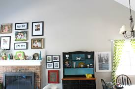 Grey Living Room Walls by Before And After Living Room Makeover A Turtle U0027s Life For Me