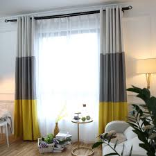 Striped Blackout Curtains Aliexpress Buy 3 Colors Striped Blackout Curtains For The
