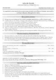 Resume Template For Graduate Graduate Resume Templates Gfyork Com
