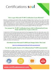70 489 microsoft certified professional exam practice test