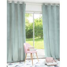 Vintage Eyelet Curtains Adela Blue Eyelet Curtain 140 X 250 Cm Things For The Home