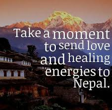 Nepal Earthquake ✴ Words To Live By ✴ Pinterest