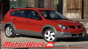 motorweek retro review 2003 pontiac vibe youtube