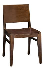 Modern Wood Bar Stool Regal Seating Series 438 Modern Wooden Chair With Square Wooden