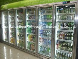 beverage cooler with glass door walk in cooler glass doors