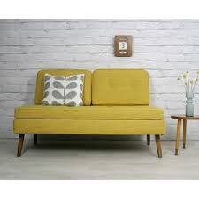 retro vintage mid century danish style sofa bed daybed eames
