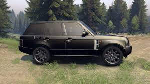 range rover car black rover sport black final for spin tires