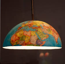 Earth Globe Map World by Earth Globe Lamp Lighting And Ceiling Fans
