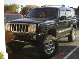 jeep commander 2013 my jeep commander with rough country lift kit mickey thompson