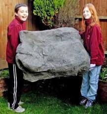 Artificial Garden Rocks Ultralight Artificial Rocks To Buy