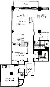 D D Floor Plans 165 N Canal Randolph Place Floorplans