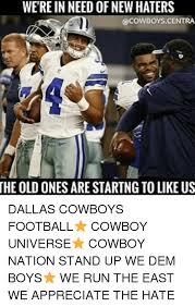 Cowboy Haters Memes - 25 best memes about dallas cowboys meme dallas cowboys memes