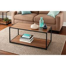living room rustic oak coffee table walmart with single drawer rectangle design coffee table walmart with shelf for home furniture ideas