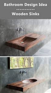 33 best bathroom design idea u2013wood sink for a natural images on