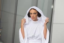 princess leia white gown star wars cosplay halloweenepisode