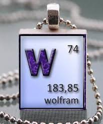 Periodic Table Tungsten Periodic Table Elements Tungsten Wolfram Scrabble Tile Pendant