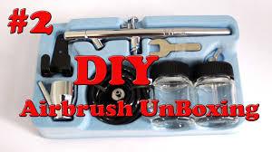 makeup airbrush kit or air brush machine diy airbrush unboxing 2