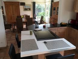 cuisine moderne bois rénovation de cuisine moderne en bois massif vendée 85
