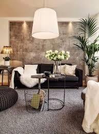 décoration canapé eclairage pour decoration salon cuir noir luminaire design
