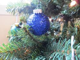 crafts after college glitter christmas ornaments