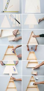how to make a modern wooden tree display shelf wooden