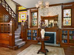 Victorian Bookshelf Gray Foyer Ideas Entry Victorian With Hearth Room Built In Bookshelf