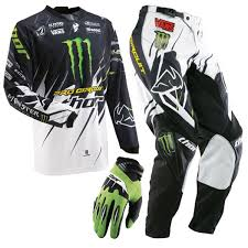 monster motocross helmets youth phase pro circuit monster jersey pants spectrum gloves package