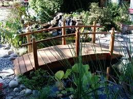 yard bridge landscaping bridges plans pond bridge garden storage shed plans