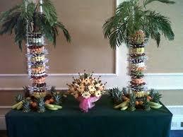 fruit wedding centrepieces
