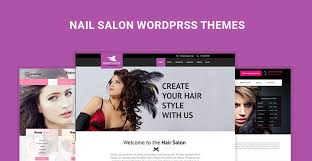 nail salon wordpress themes for beauty salon and massage parlors