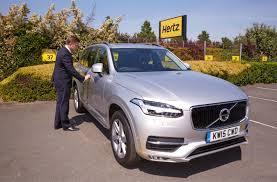 new volvo hertz first to launch rentals of all new volvo xc90 jun 25 2015