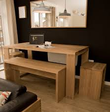kitchen dining table with bench against wall home design ideas