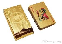 where to buy gold foil best 24k gold foil cards to buy buy new 24k gold foil