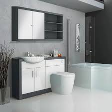 Fitted Bathroom Furniture White Gloss Hacienda Fitted Furniture Pack White Buy At Bathroom City